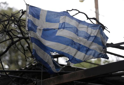 Greece has declared a state of emergency and appealed for international support. Picture: AAP