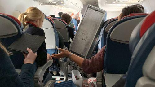 Chaos on board Delta flight