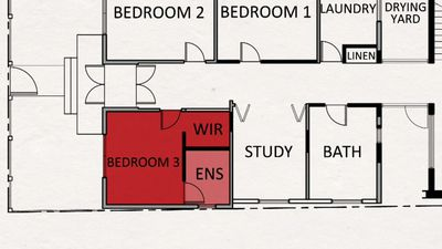 Elyse and Josh are taking on the mammoth task of adding a walk-in-wardrobe and en-suite to their guest bedroom.