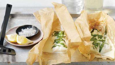 "Recipe:&nbsp;<a href=""http://kitchen.nine.com.au/2017/07/06/13/25/fish-en-papillote"" target=""_top"">Ten minute fish en papillote</a>"