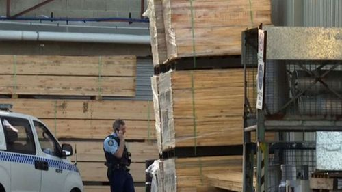 An earlier workplace accident killed a man in St Marys, Sydney