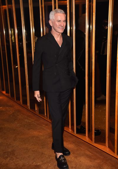 Baz Luhrmann at V Magazine's Intimate Dinner In Honour of Karl Lagerfeld, October 2017