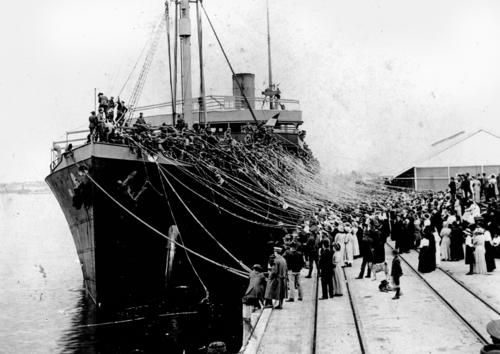 HMAT Boonah was the last ship to leave Australia for World War 1