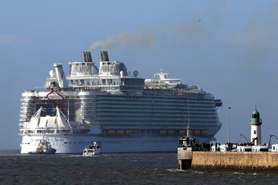 And while it's the world's largest ship for now, Royal Caribbean already has plans to build bigger and better by 2021.