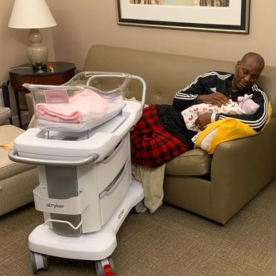 Tyrese Gibson shows off his 'blessed angel'