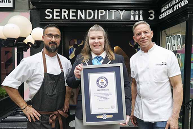 Serendipity3 claim Guinness World Record for world's most expensive fries