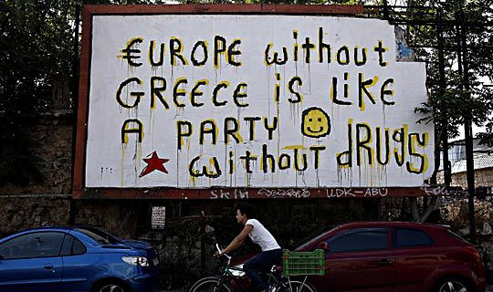 How much does Greece owe?