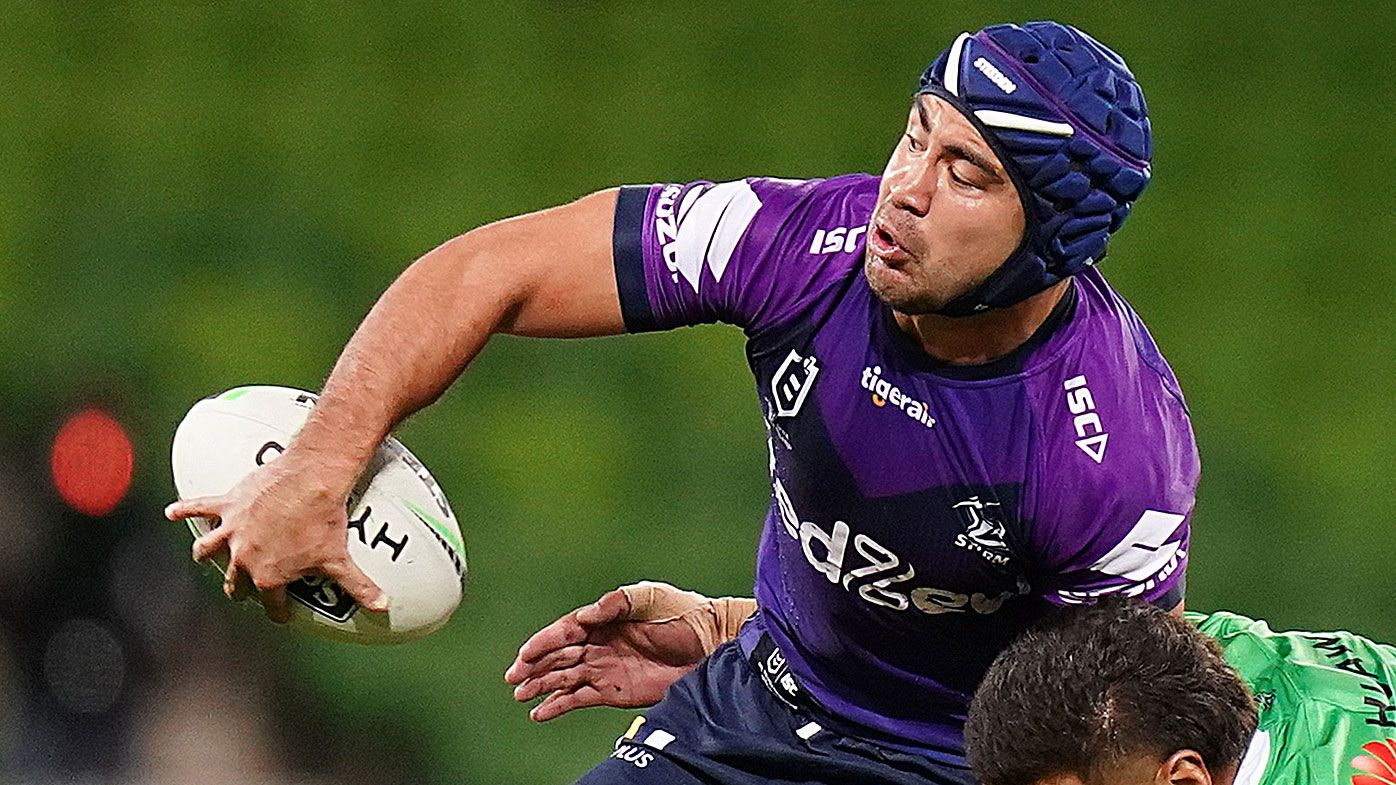 Melbourne Storm halfback Jahrome Hughes has hand surgery