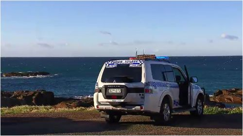 Four people are feared dead after a private chopper crashed north of Sydney yesterday.