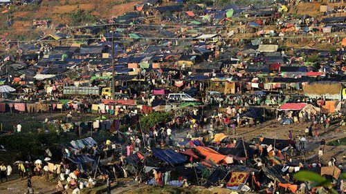 The Rohingya exodus has caused a humanitarian disaster in neighbouring Bangladesh. (Photo: AP).