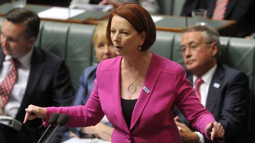Julia Gillard. (AAP)