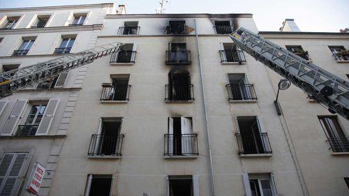 Eight dead in Paris apartment fire