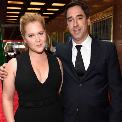 Amy Schumer and Chris Fischer
