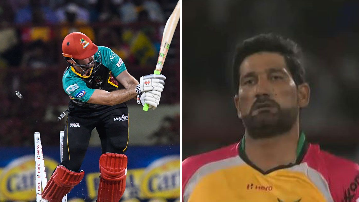 CPL match marred by Cutting gesture