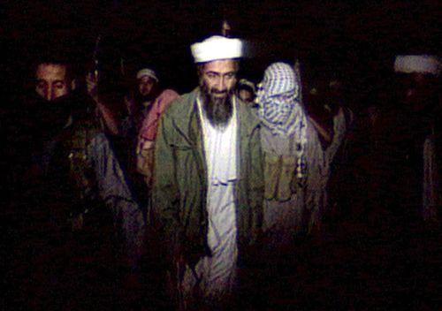 A 1998 screengrab of Osama Bin Laden, said to be initiator of the bombings of US embassies in Nairobi, Kenya, and Dar-es-Salaam, Tanzania. (Getty)