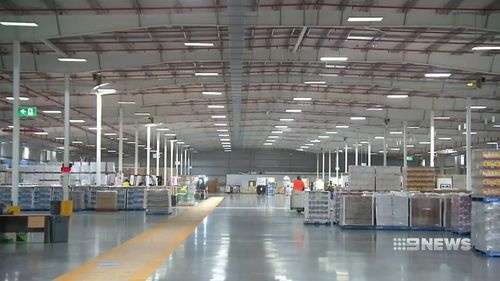 The company's $100 million distribution centre at Kemps Creek is now servicing Costco's 11 stores nationwide.