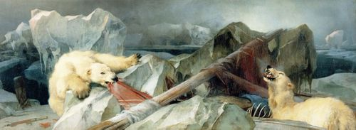 Edwin Landseer's Man Proposes, God Disposes hypothesised a grim fate for the Franklin expedition.