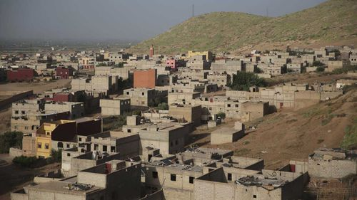 The town of Oulad Ayad.