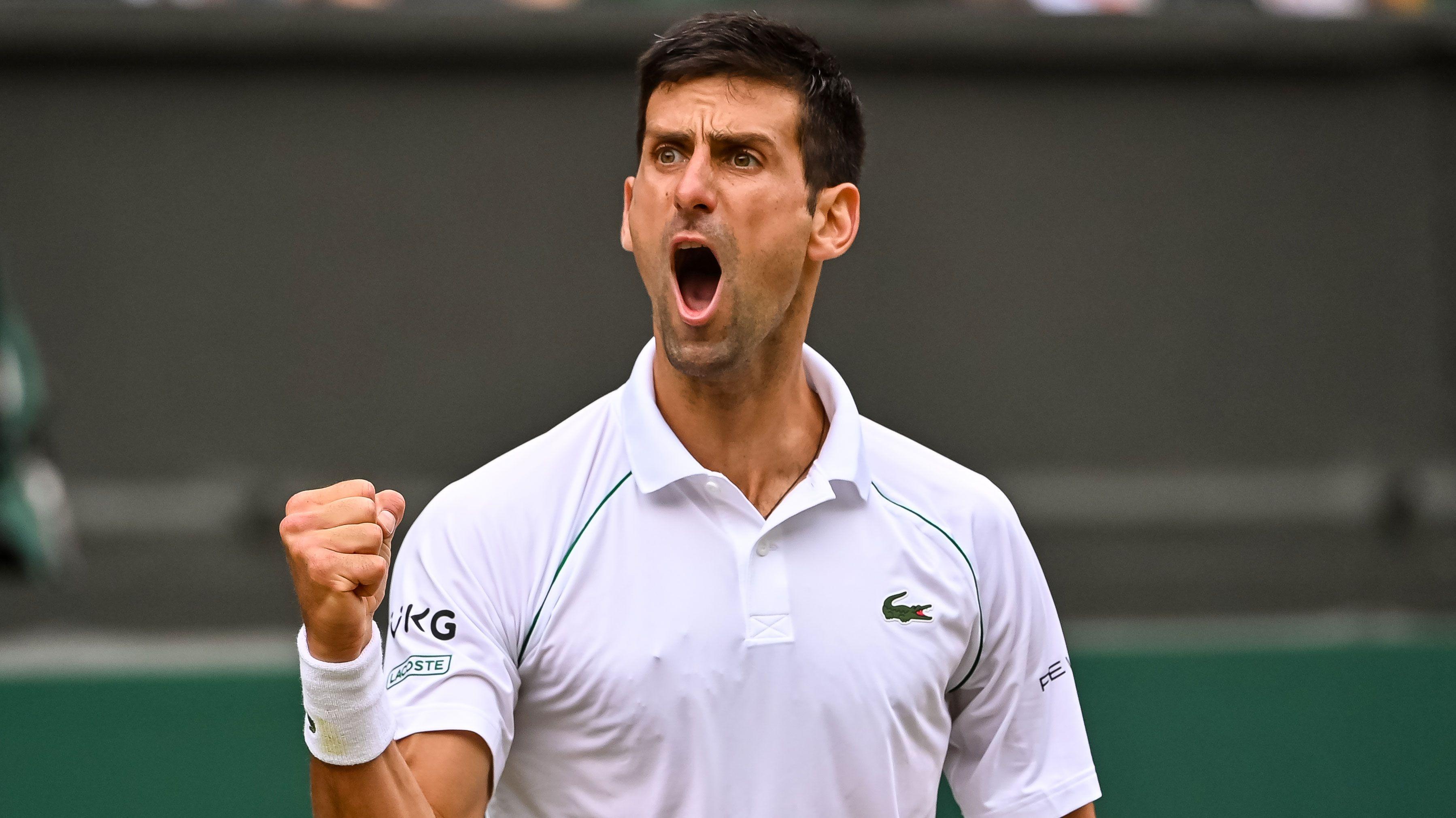 Novak Djokovic edging towards more history as he advances to Wimbledon final