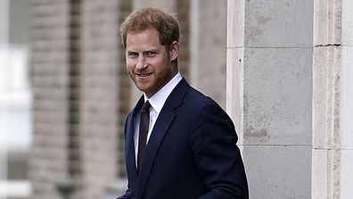 Prince Harry has made a solo trip to Germany.