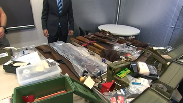 Willetton weapons seizure