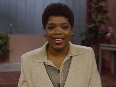 Oprah Winfrey hosting AM Chicago in 1984.