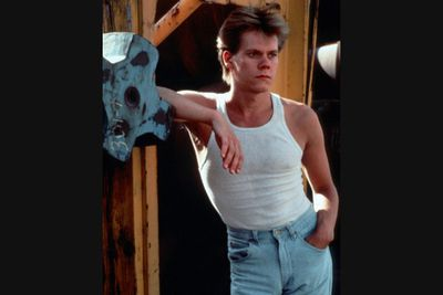 "The 2011 remake got a rapturous response, but don't forget that Kevin Bacon had the original moves in this ""teens-rebel-through-dance"" classic. Man those jeans were tight!"