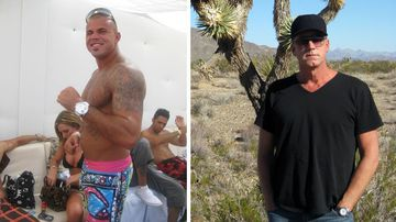 RJ Cipriani (right) would ultimately help bring the house down on Owen Hanson's drug trafficking ring. Source: Supplied.