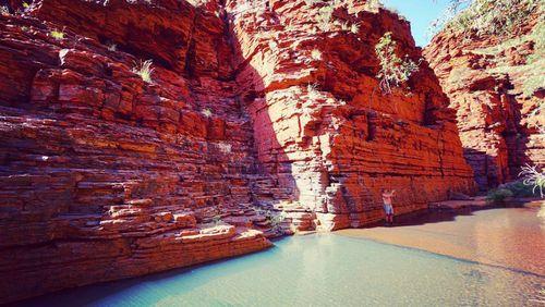 A hidden gem. Karijini offers an incredibly coloured landscape.