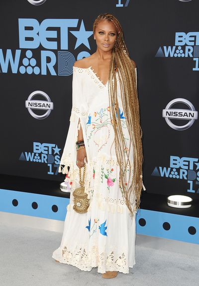 Eva Marcille in Fillyboo at the Bet Awards 2017, Los Angeles.