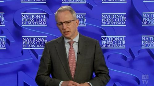 Urban Infrastructure Minister Paul Fletcher faced the National Press Club today.