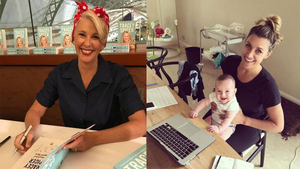 Tracey Spicer's (left) praise for Talitha Cummins (right)