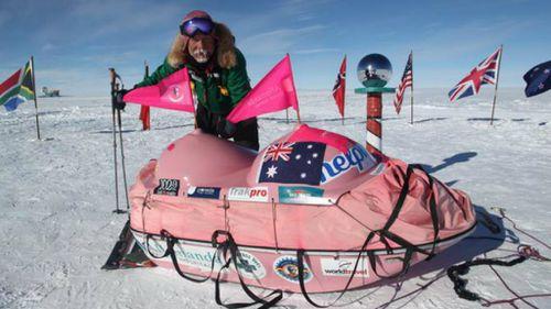 Aussie attempts new Antarctic trek record