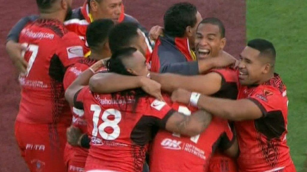 Tonga defeats Kiwis