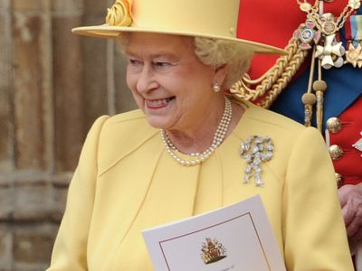 Queen Mary's Lover's Knot brooch