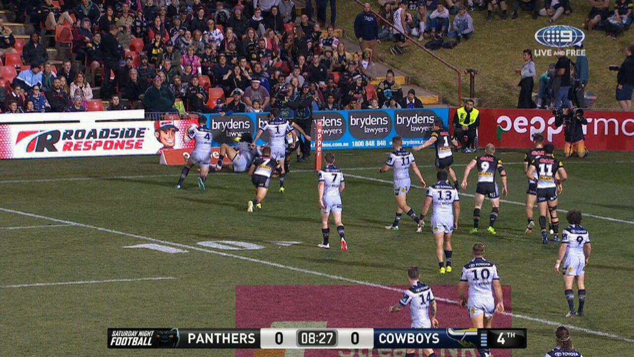 Cowboys open the scoring against Penrith