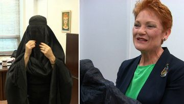 'You have to take a stance': Hanson opens up on burqa stunt
