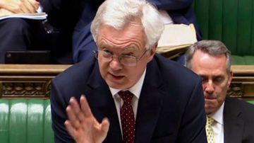 Brexit Secretary David Davis. (AAP file image)