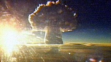 Russia's 'Tsar Bomb', the world's most powerful nuclear blast