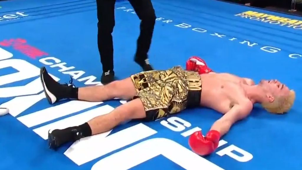 Joe George dishes up savage KO of the year candidate with brutal uppercut