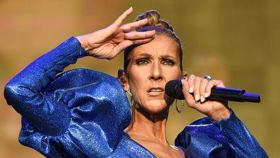 Céline Dion, singing, concert, on stage