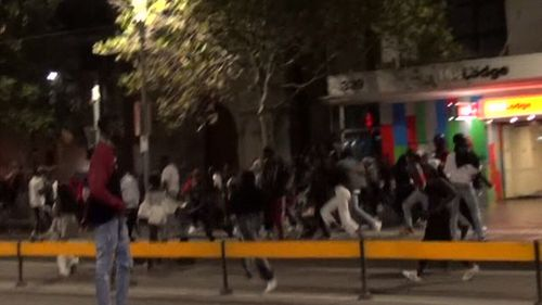 African gang violence marred this year's Moomba Festival in Melbourne.
