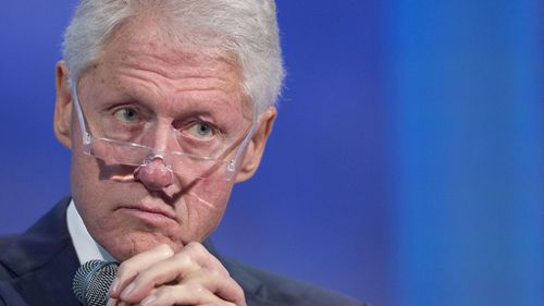 Bill Clinton has been accused in the past of allegedly assaulted several women. (AAP)