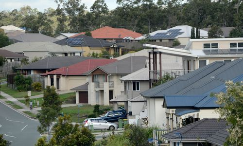 Properties in Australia's eight capital cities have decreased in selling prices by up to 1.2 percent over the past 12 months. Picture: 9NEWS.