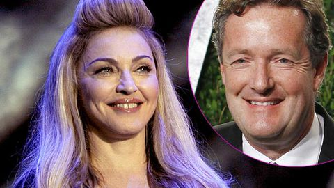 Piers Morgan to Madonna: 'Welcome to Twitter. You're still banned from my show. x'