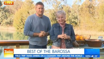Chef Curtis Stone and food icon Maggie Beer