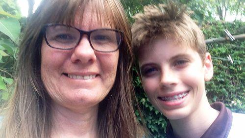 Patrick, with his mother Jocelyn Suiter. (Photo: Jocelyn Suiter)