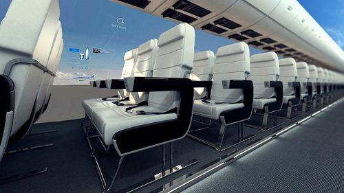 Technology company CPI says the lack of windows make the aircraft faster and lighter. (CPI-UK)