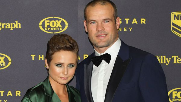Tessa James and husband Nate Myles - a love that's deep and true. Image: Getty.