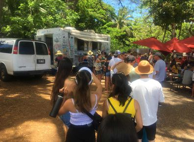 Giovanni's shrimp truck, Oahu